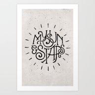 My Sun And Stars Art Print