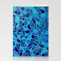 'Mosaic Tile' Stationery Cards