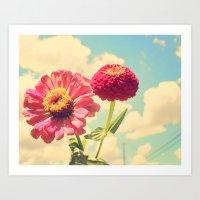Lovely Flower Art Print
