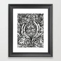 Flora #4 Framed Art Print