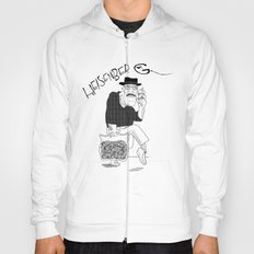 Fear and Loathing in Albuquerque (Breaking Bad) B&W Hoody