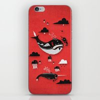 Badasses Roaming The Skies iPhone & iPod Skin