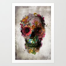 SKULL 2 Art Print