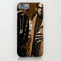 iPhone & iPod Case featuring Wiz & Tempah by D77 The DigArtisT