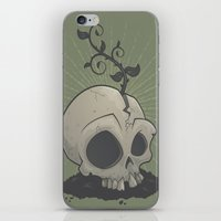 Skull Garden iPhone & iPod Skin