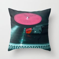 Don't stop the music Throw Pillow