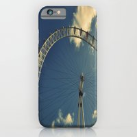 iPhone & iPod Case featuring London Eye by Danielle W