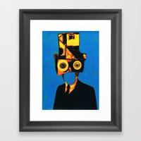 Dr. Mesineto Framed Art Print