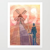 Don Quijote Art Print