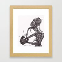 GET YOUR RAT OUT Framed Art Print