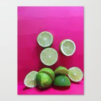 Cherry Limeade Canvas Print