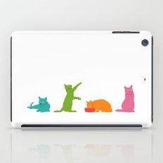 Cats Multicolor iPad Case