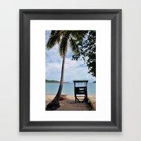 Come Here Framed Art Print