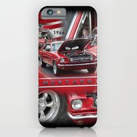 1966 Mustang  iPhone 6 Slim Case