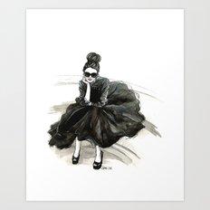 London Chic Art Print
