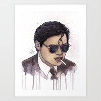 MARK GOR Art Print