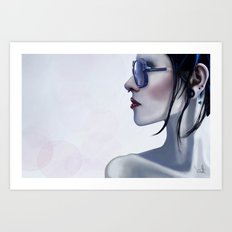 Eyewear Fashion Victim Art Print