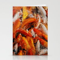 Stationery Card featuring KOI by RAIKO IVAN雷虎