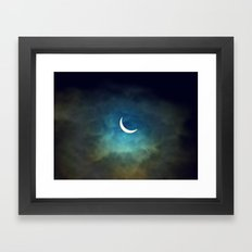 Solar Eclipse 1 Framed Art Print