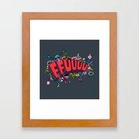 FFUUUU #2 Framed Art Print
