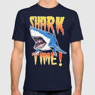T-shirt featuring Shark by Silver Larrosa