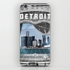 The Big Show - Detroit, Michigan iPhone & iPod Skin
