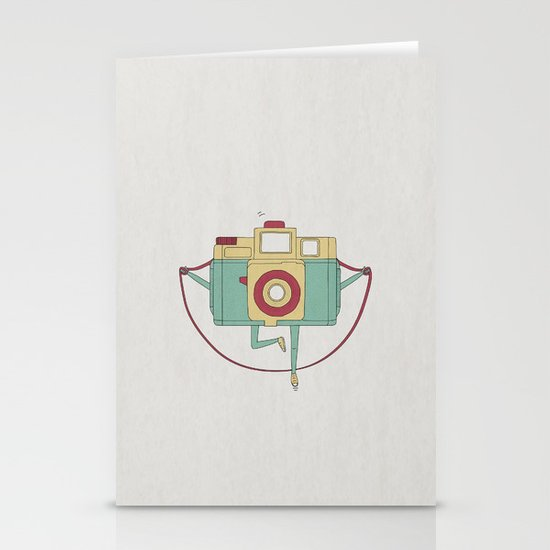 1, 2, 3, click! Stationery Card
