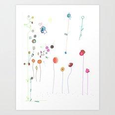Floral Fall Art Print