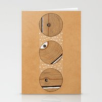 Three Circles Stationery Cards
