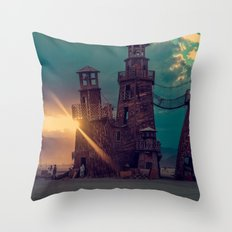 The Lighthouse Too Throw Pillow