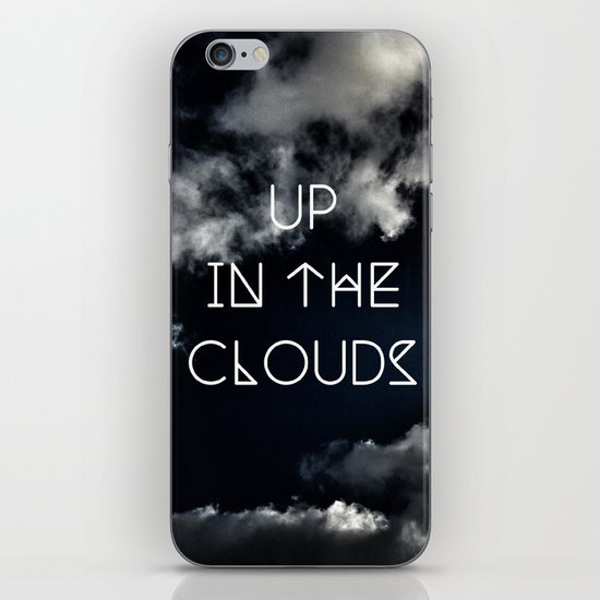 Up in the air iPhone & iPod Skin