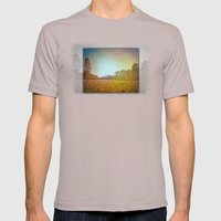 Australian Bush and Hill Mens Fitted Tee Cinder SMALL