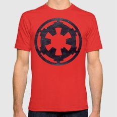 Star Wars Galactic Empir… Mens Fitted Tee Red SMALL