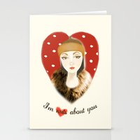 Camilla Willow: I'm Nuts About You Stationery Cards