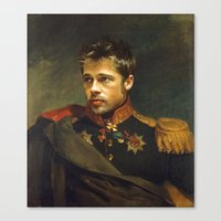 Brad Pitt - Replaceface Canvas Print