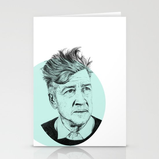 David Lynch Stationery Card