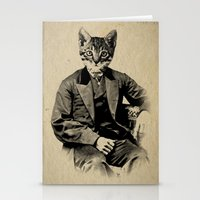 The Fancy Feline Stationery Cards