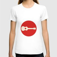 guitar T-shirts featuring Guitar by Ersen-T