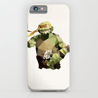 Polygon Heroes - Michelangelo iPhone 6 Slim Case