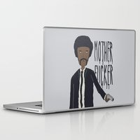 pulp fiction Laptop & iPad Skins featuring Pulp Fiction by Molnár Roland