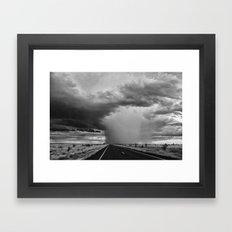 Storm 2 Framed Art Print