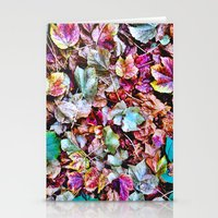Autum Leaves Stationery Cards