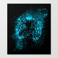 Terror From The Deep Spa… Canvas Print