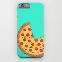 Pizza Pie Chart iPhone 6 Slim Case