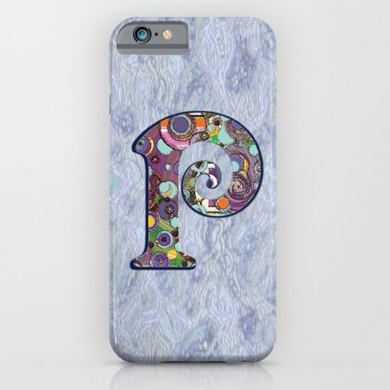 The Letter P iPhone & iPod Case