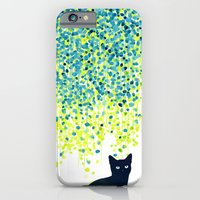 Cat In The Garden Under … iPhone 6 Slim Case