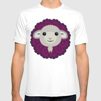 Big Sheep Mens Fitted Tee White SMALL