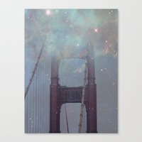 Starry San Francisco Canvas Print