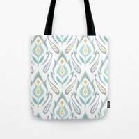 Soft Ikat Tote Bag