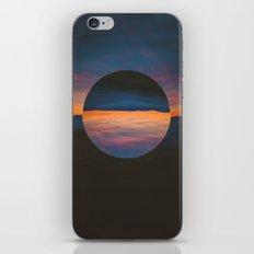 Black Sun iPhone & iPod Skin